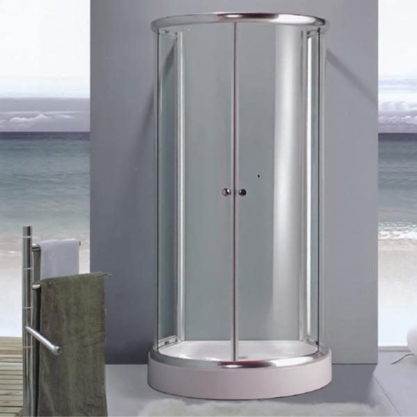 半圆形透明钢化玻璃简易房-LX-1005