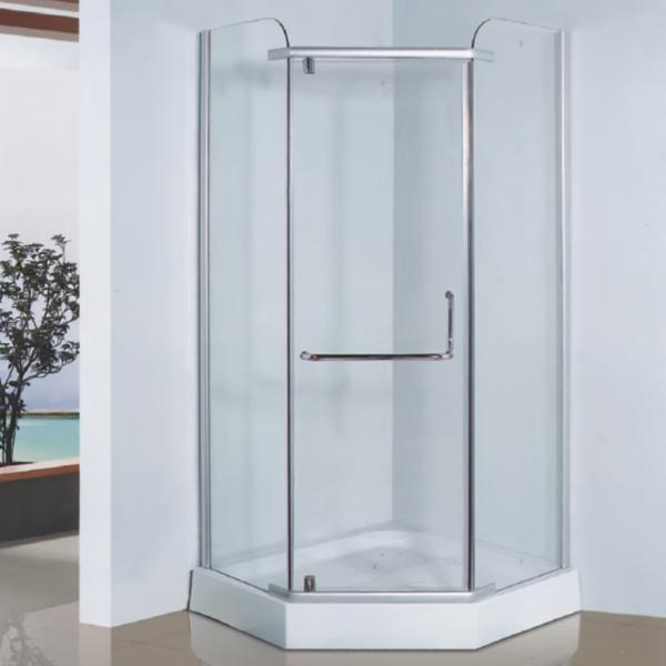 钻石型透明钢化玻璃简易房-LX-1014
