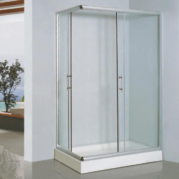 长方形型透明钢化玻璃简易房-LX-1019