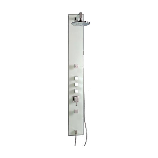 方形玻璃淋浴屏-LX-126