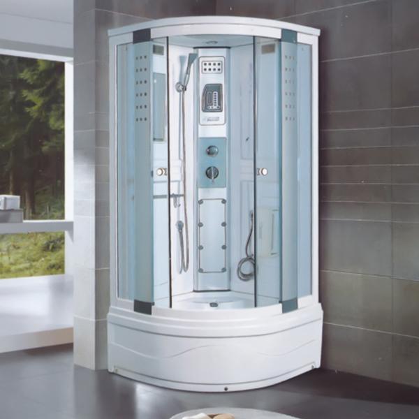 6毫米透明钢化玻璃淋浴房-LX-2013