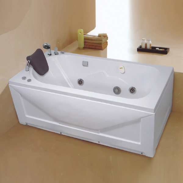 带龙头的亚克力按摩浴缸-LX-223