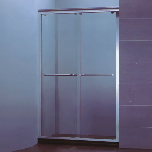 浅银框淋浴屏-LX-3072