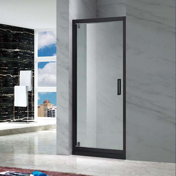 黑色电镀淋浴屏风-LX-3108