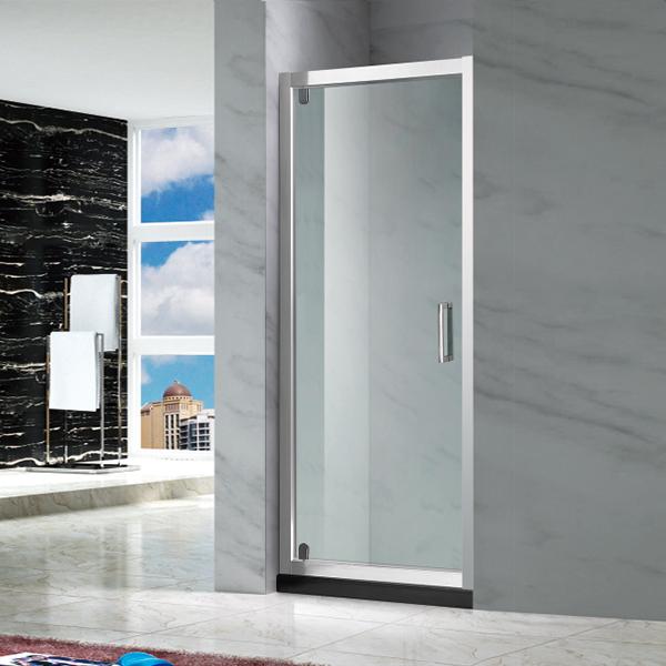 透明钢化玻璃淋浴屏风-LX-3109