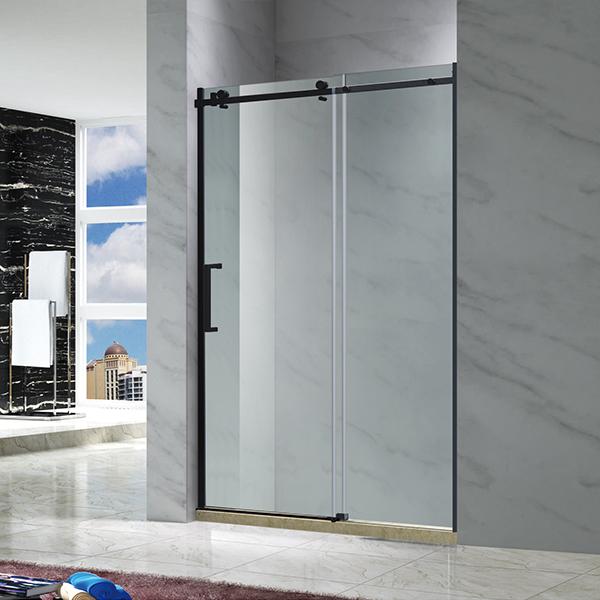 黑色移动淋浴屏风-LX-3110