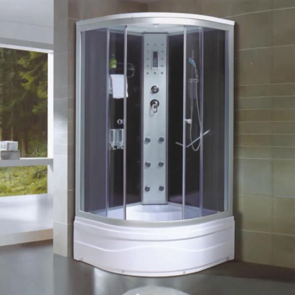 带皂液器和阿波罗背喷的整体房-LX-5016